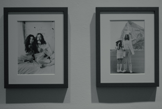 1969 Yoko Ono and John Lennon