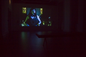 "A still from Seamus Nolan's film, screening at IMMA as part of ""F**k IMMA"""